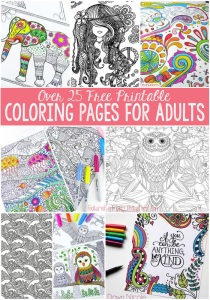 Adult color pages