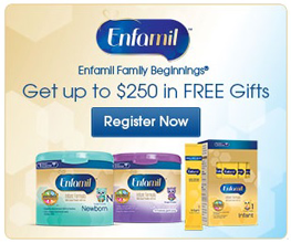 FREE Baby Products, Samples & Coupons From Enfamil Famly Beginings