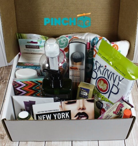 Sign up with PinchME to get a box of free samples in the mail eachmonth