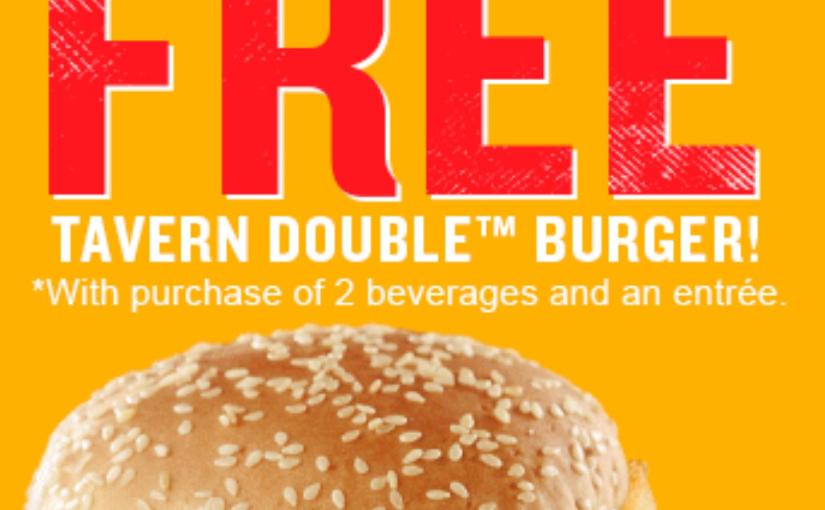 Score a free burger at RedRobbin!
