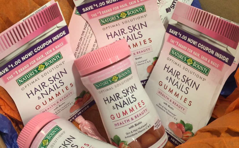Get FREE bottles of Nature's Bounty Hair, Skin & Nail gummy vitamins!! Free!