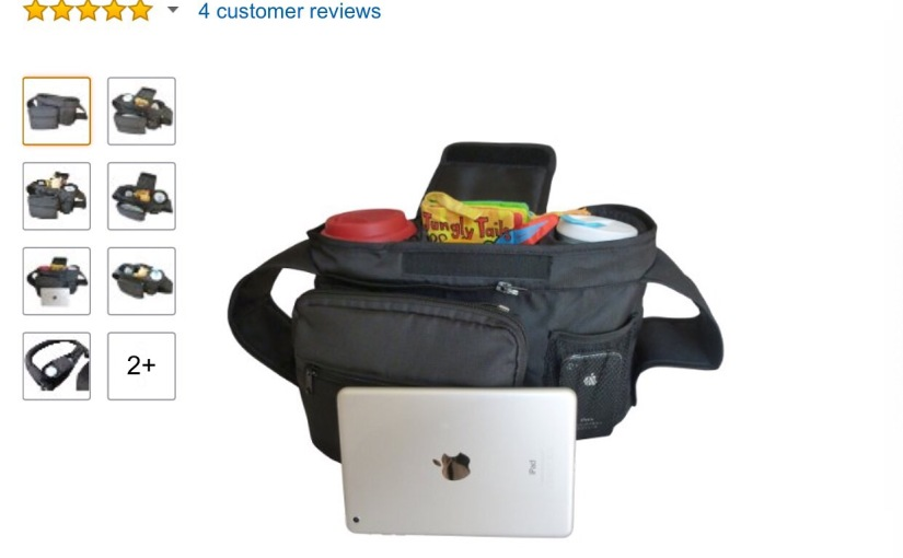 Review of my favorite stroller organizer by Groovy Baby