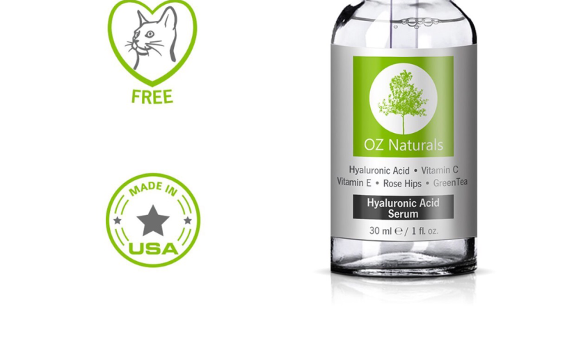 Review of Oz Naturals Hylauronic Acid Anti Aging Face Serum