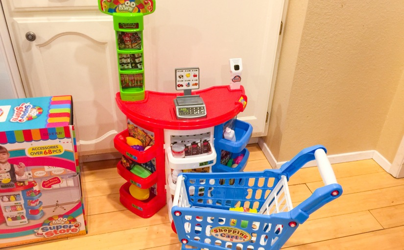 REVIEW of the Click N' Play Supermarket Play Set