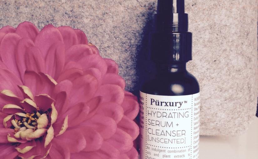 PURXURY ORGANIC HYDRATING SERUM + CLEANSER#purxury