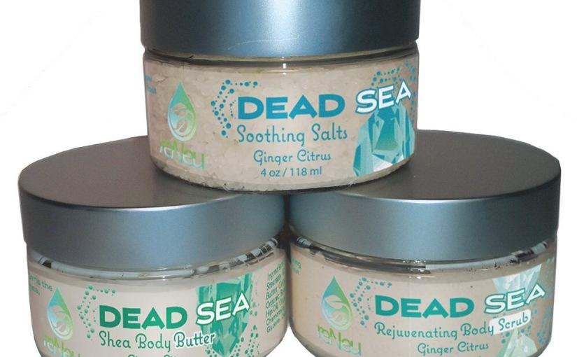 #ReNeu Ginger Citrus Dead Sea Salts Treo! Fabulous FridayReview!