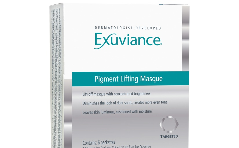 Exuviance Pigment Lifting Masque Review #review