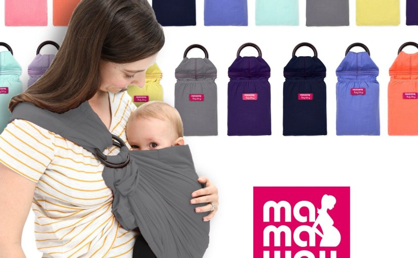 My Review of the Mamaway Ring Sling for Baby Wearing