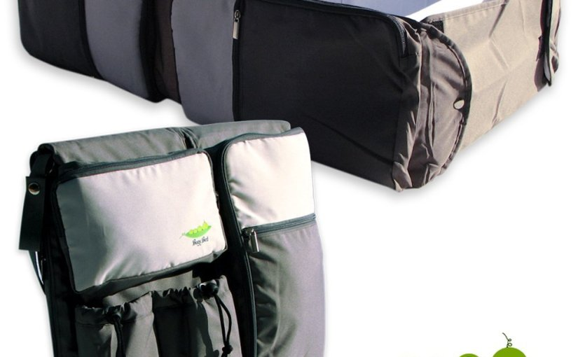 Review of the 3-n-1 Travel Bassinet byBagyBed