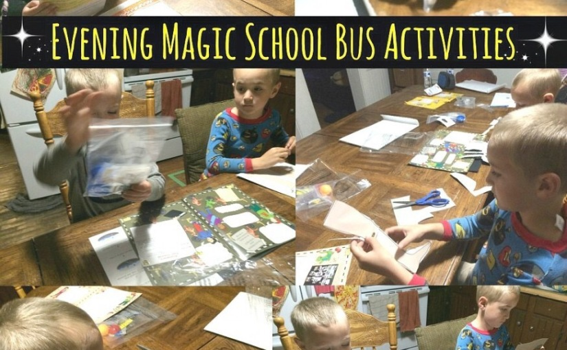 Have you heard of the Magic School Bus science club?