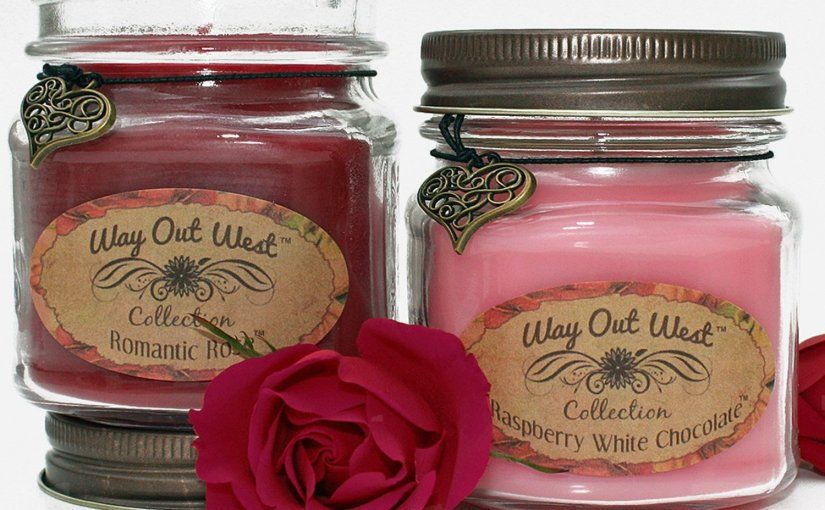 Review Romantic Candle Gift Set Soy Wax Blend