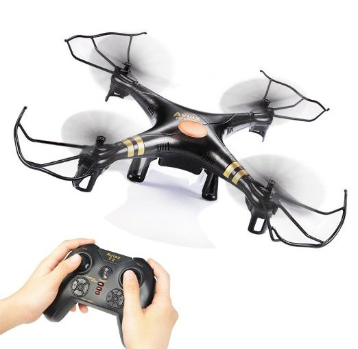 Review! GEEKTOYS 2.4G 4 CH 6-Axis Gyro RC Quadcopter, #F2_Balck Headfree Mode, One Key to Return