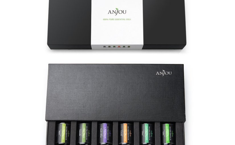 #Anjou Aromatherapy Top 6 Essential Oils Gift Kit 100 Pure Therapeutic Grade, Few Drops in Essential Oil #review#gotitfree