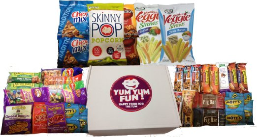 Yum Yum Healthy Snack Care Package Review