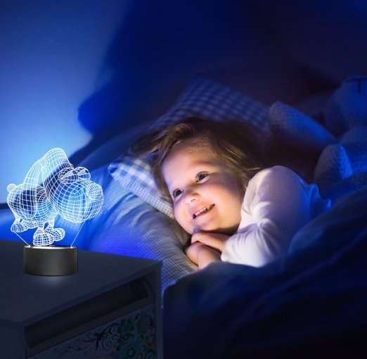Review Baby Night Light Puppy