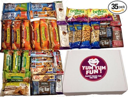 REVIEW Yum Yum Fun Healthy Bars & Snacks Variety Pack #YUMYUMFUN#freesample