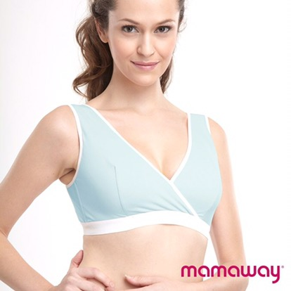 #Mamaway Antibacterial Crossover Sleeping & Nursing Bra – Pull-Aside Access #review