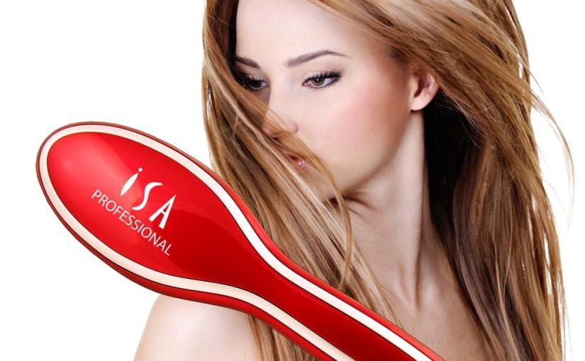 ISA Professional Digital Hair Straightening BrushReview