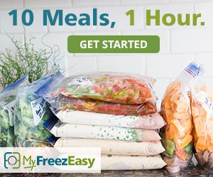 Why I Love the MyFreezEasy Website and how it's Saved Me So My Time in the Kitchen