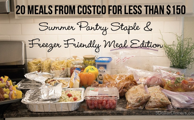 20 #Meals From #Costco For Less Thank $150 #saving #dinner