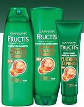 #Free #Garnier Fructis #Brazilian Smooth #Haircare#Sample