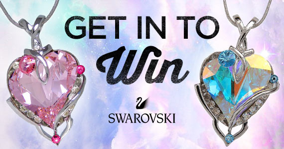 Win a Swarovski Crystal Necklace
