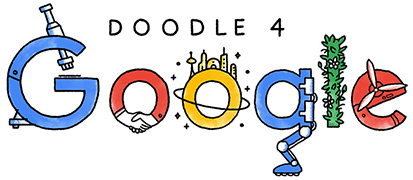 #Doodle4Google Enter your child's artwork for a chance to win! Artest K-12