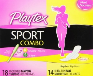#Playtex Sport Combo #Sample pack #FREE