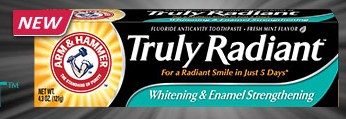 #Free #Sample of Arm & Hammer Truly Radiant #Toothpaste#freebie