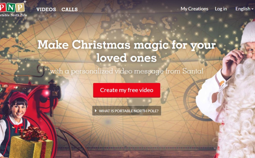 FREE Create You Very Own Custom Santa Video From the North Poll