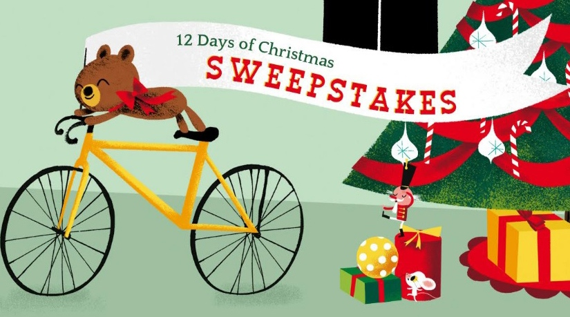 12 Day of Christmas Sweepstakes! Enter to win over $3,000 in prizes
