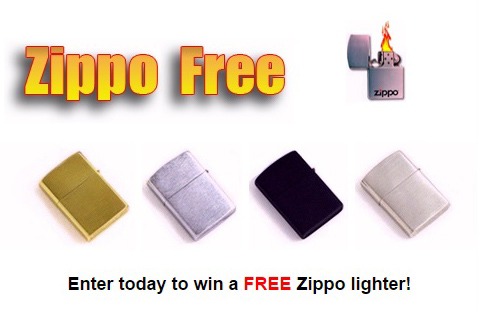Win a Free Zippo Lighter Sweepstakes