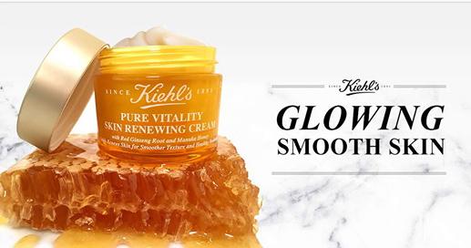 #Free Kiehl's Pure Vitality Skin Renewing Cream#Sample