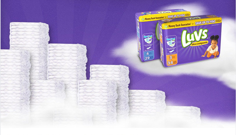 Enter to win a year supply of #diapers from #Luvs #Sweepstakes