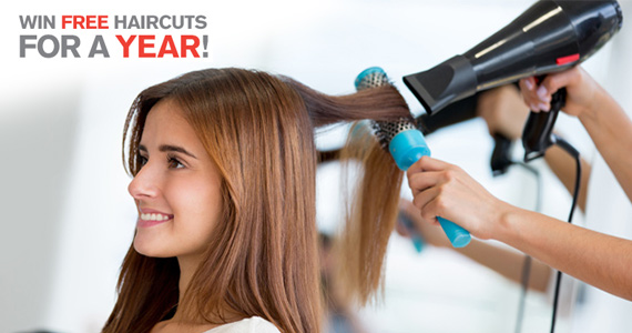 #Free Haircuts For a Whole Year!#Sweepstakes