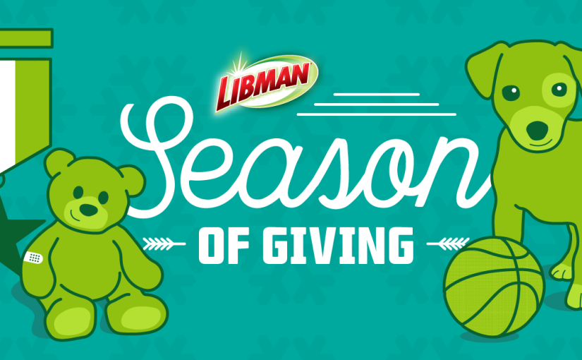 Libman Season Of Giving Sweepstakes – Grand Prize $500