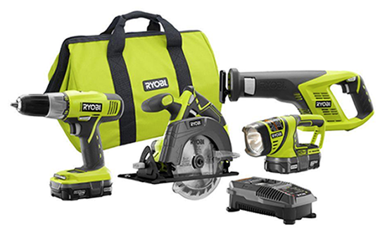 Win a Roybi 18V Lithium Combo Kit for theHolidays!
