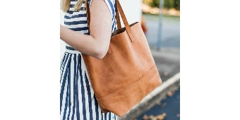 Society B Mamuye Leather Tote Giveaway