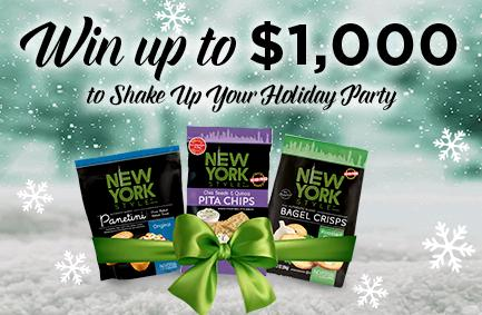 New York Style Holiday Shake Up #Giveaway #Sweepstakes