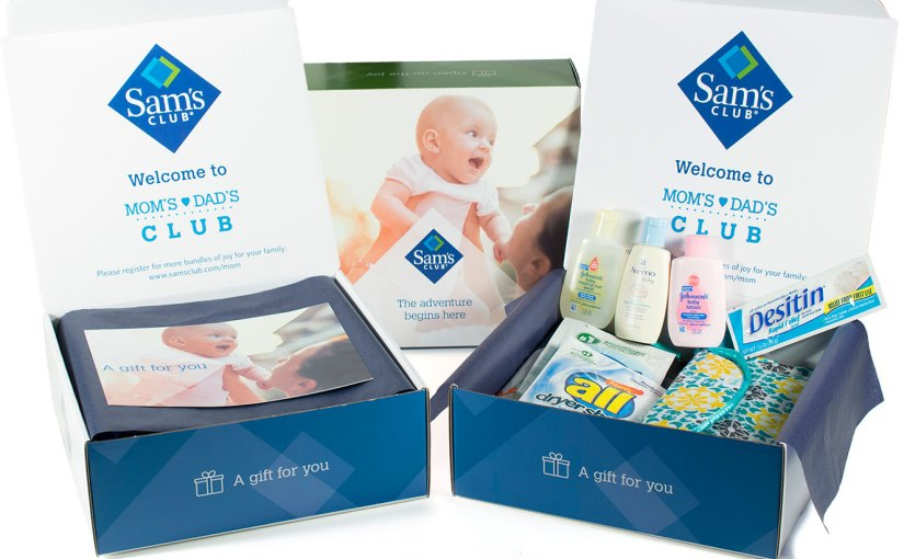 Free Mom to be baby sample box from Sam'sClub!