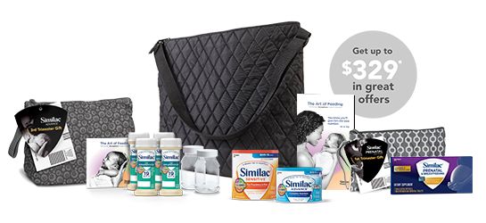 Free Baby Formula by Similac with tote $329 Value
