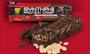Free BSN Syntha-6 Protein Crip Bar #Sample Kit and chance to enter their #Sweepstakes #contest #free