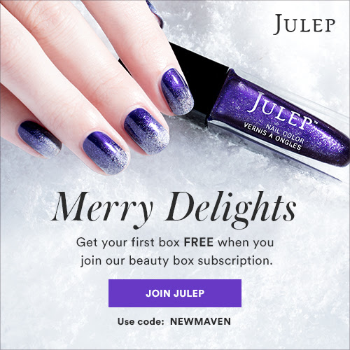 Get a #Free Julep Maven Box Full Size #Beauty Products Plus 40% off Site wide!