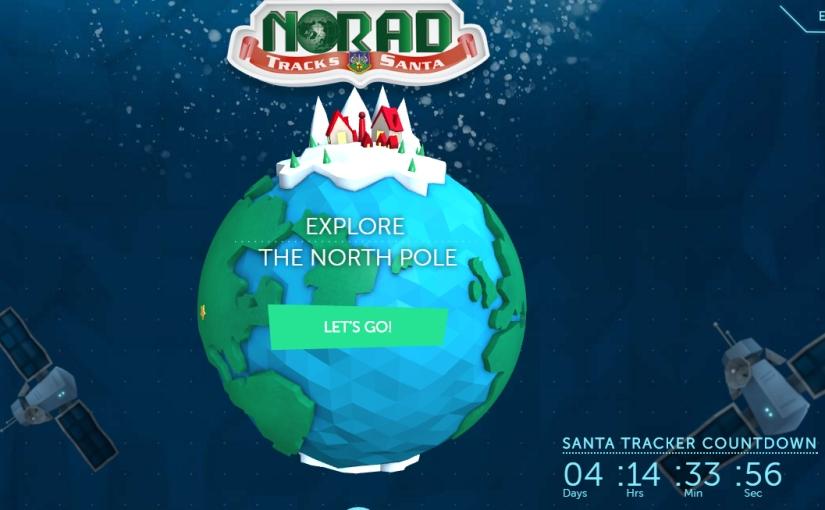 Track Santa using NORAD's FREEservice