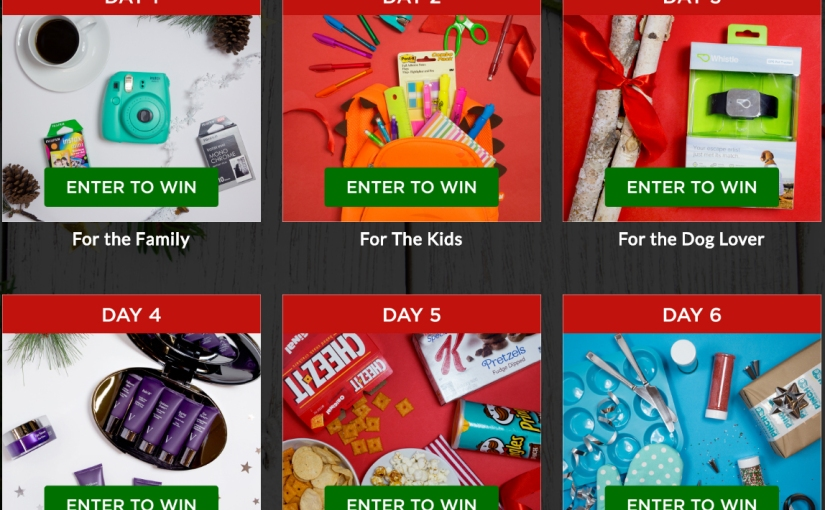 *Hurry* Only 2 Days Left to Enter the PINCHmas Sweepstakes before it's gone!
