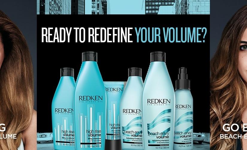 #Free Redken Go Big High Rise Volume or Go Beachy#Sample