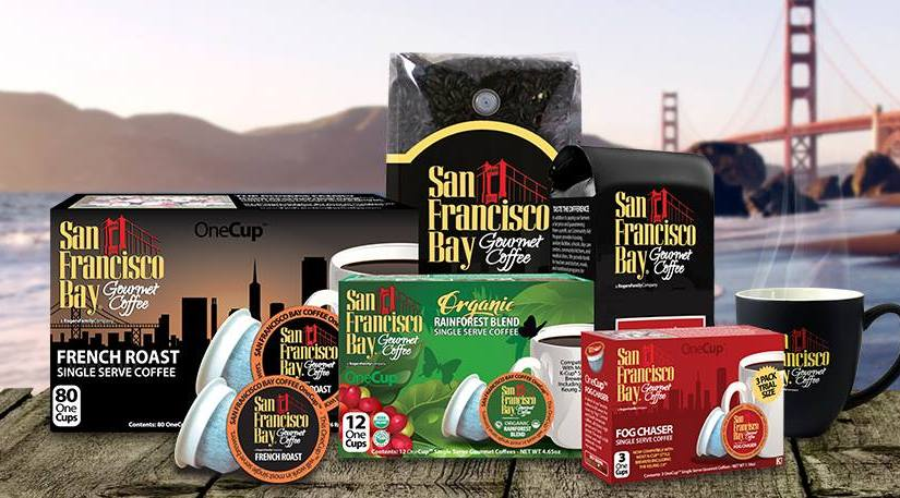 San Francisco bay Gourmet Coffee Company is giving away free samples