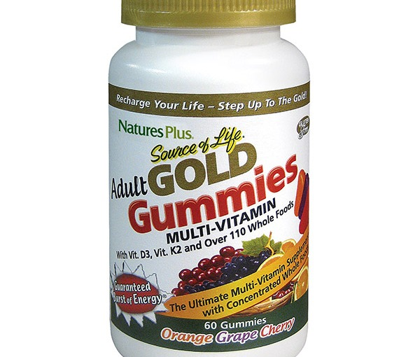 Totally Free Sample Of Natures Plus Adult gold Gummies Multi-Vitamin