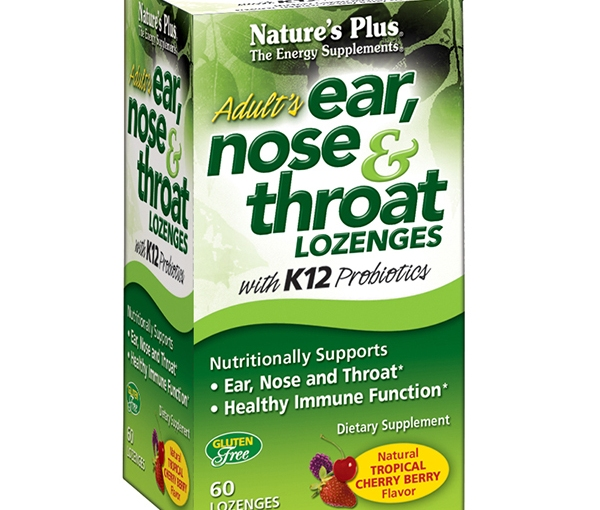 FREE Adult's Ear, Nose & Throat Lozenges with K12 Probiotics – Tropical Cherry Berry Flavor