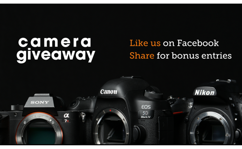Enter to win a new camera!